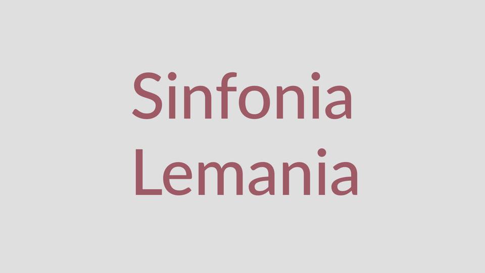 Sinfonia Lemania